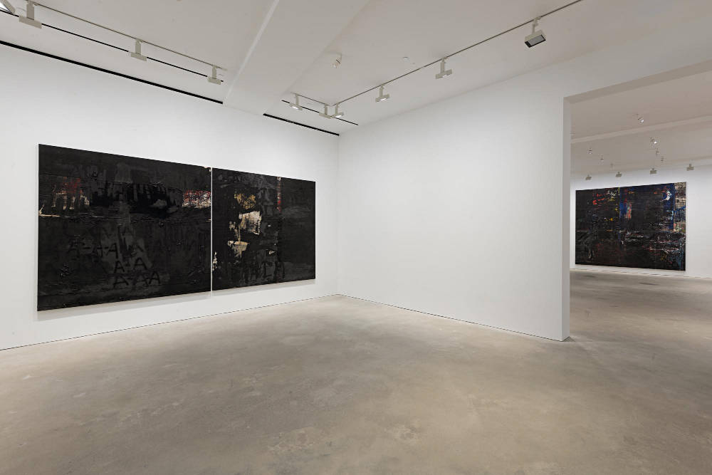 David Zwirner Hong Kong Oscar Murillo 2