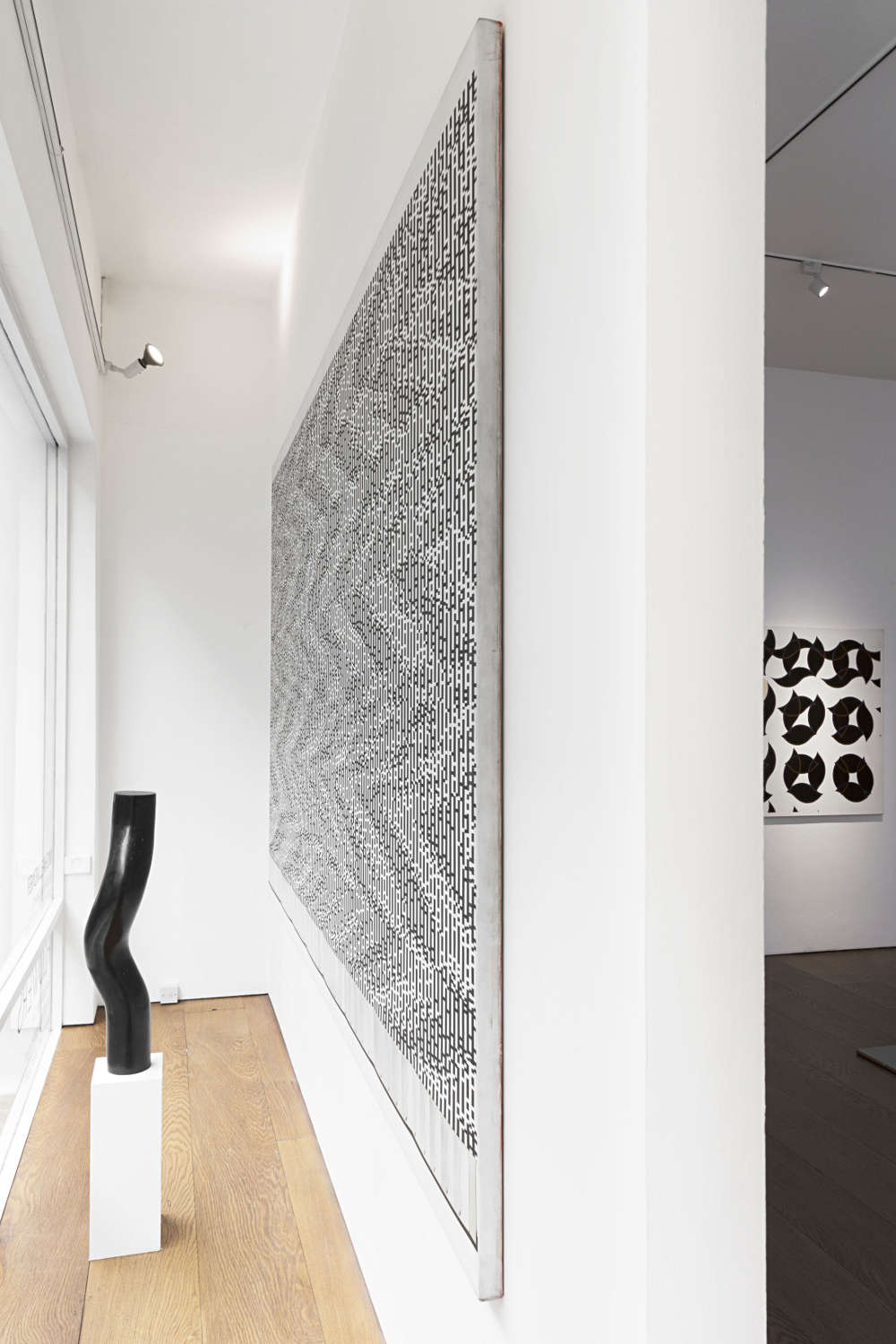 Michael Kidner In Black And White At Flowers Gallery