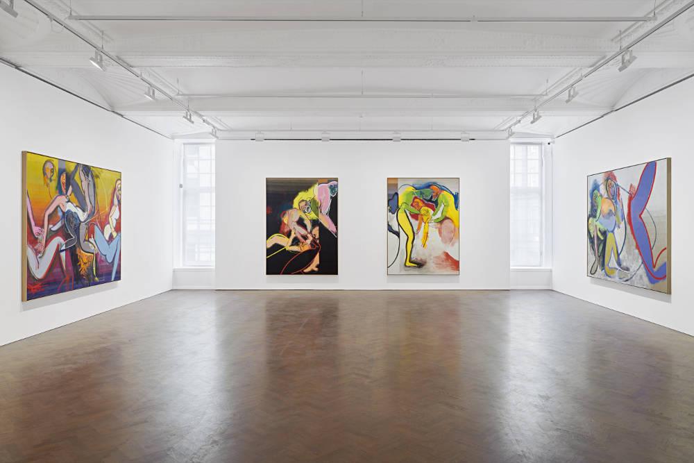 Galerie Thaddaeus Ropac London Daniel Richter 1