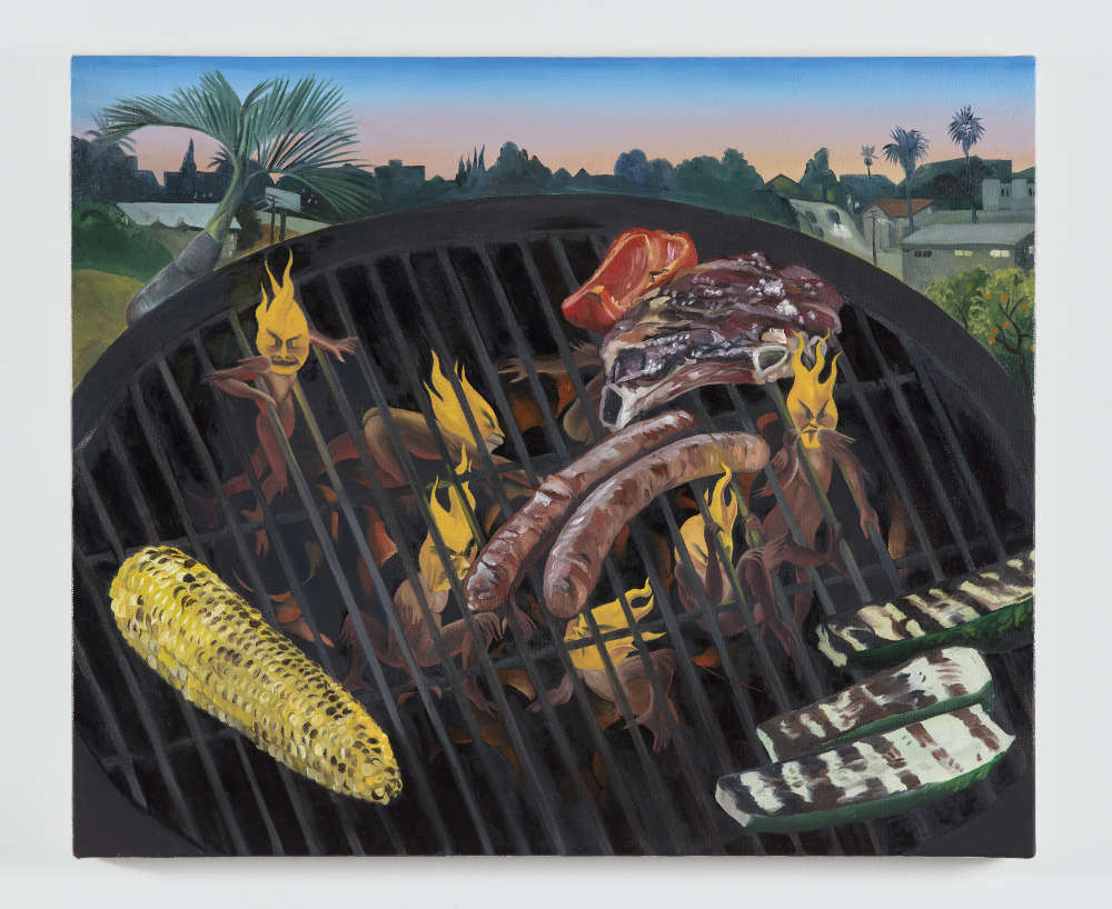 Justin John Greene, Gates of Eden, 2018. Oil on canvas 50.8 x 61 cm (20 x 24 in.)