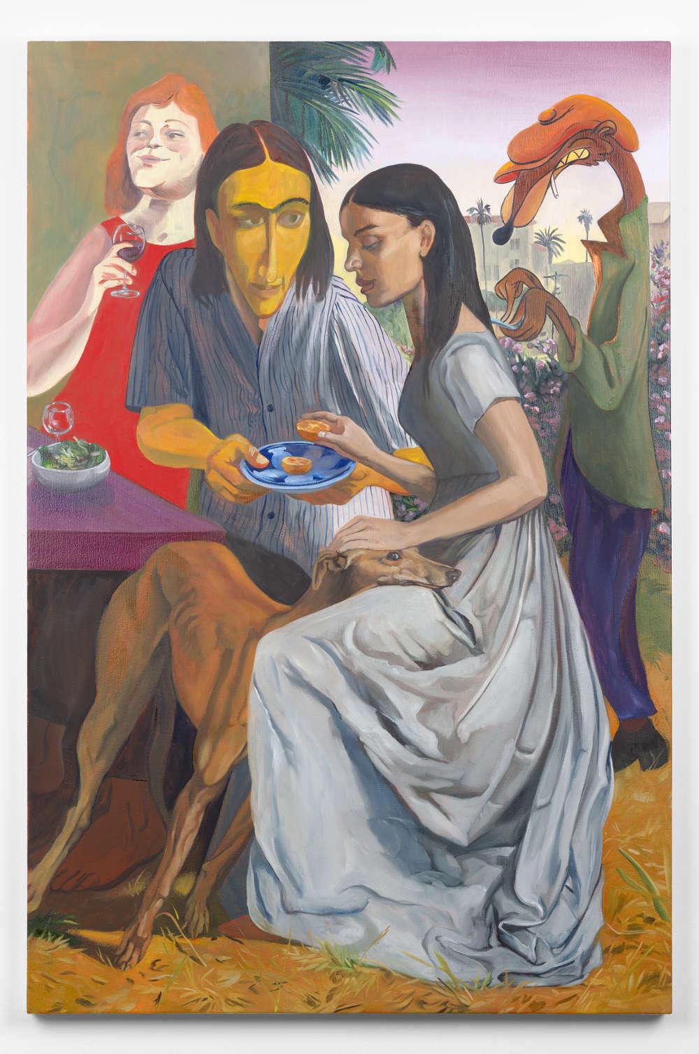 Justin John Greene, Isabella, 2018. Oil on canvas 104.1 x 68.6 cm (41 x 27 in.)