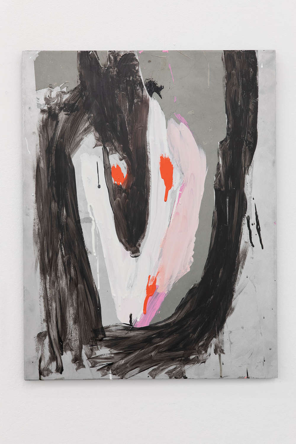 Nicolas Roggy, Untitled, 2018. Gesso, acrylic medium, acrylic paint, pigments and oil-based paint on aluminium 52 x 40 x 1 cm (20.47 x 15.75 x .39 inches) Courtesy of the artist & VNH Gallery. Photo: Diane Arques