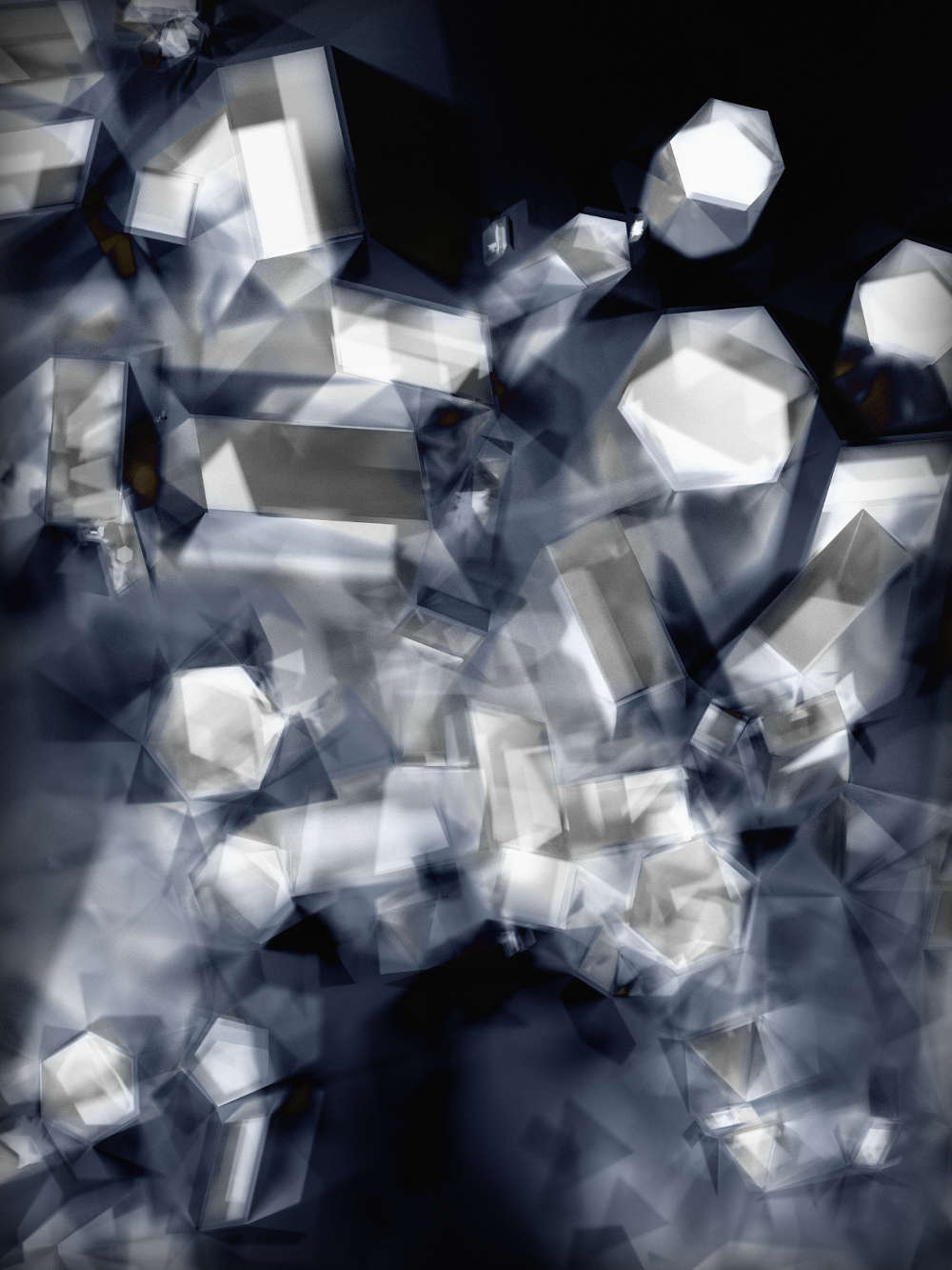 Thomas Ruff, phg.03_I, 2013. C-print. Framed: 240 x 185 cm Edition of 4 plus 1 AP (#2/4)