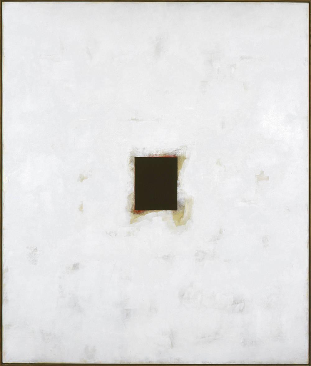 Claudio Verna, Altrove, 2002. Acrylic on canvas 200 x 170 cm 78.7 x 66.9 inch.