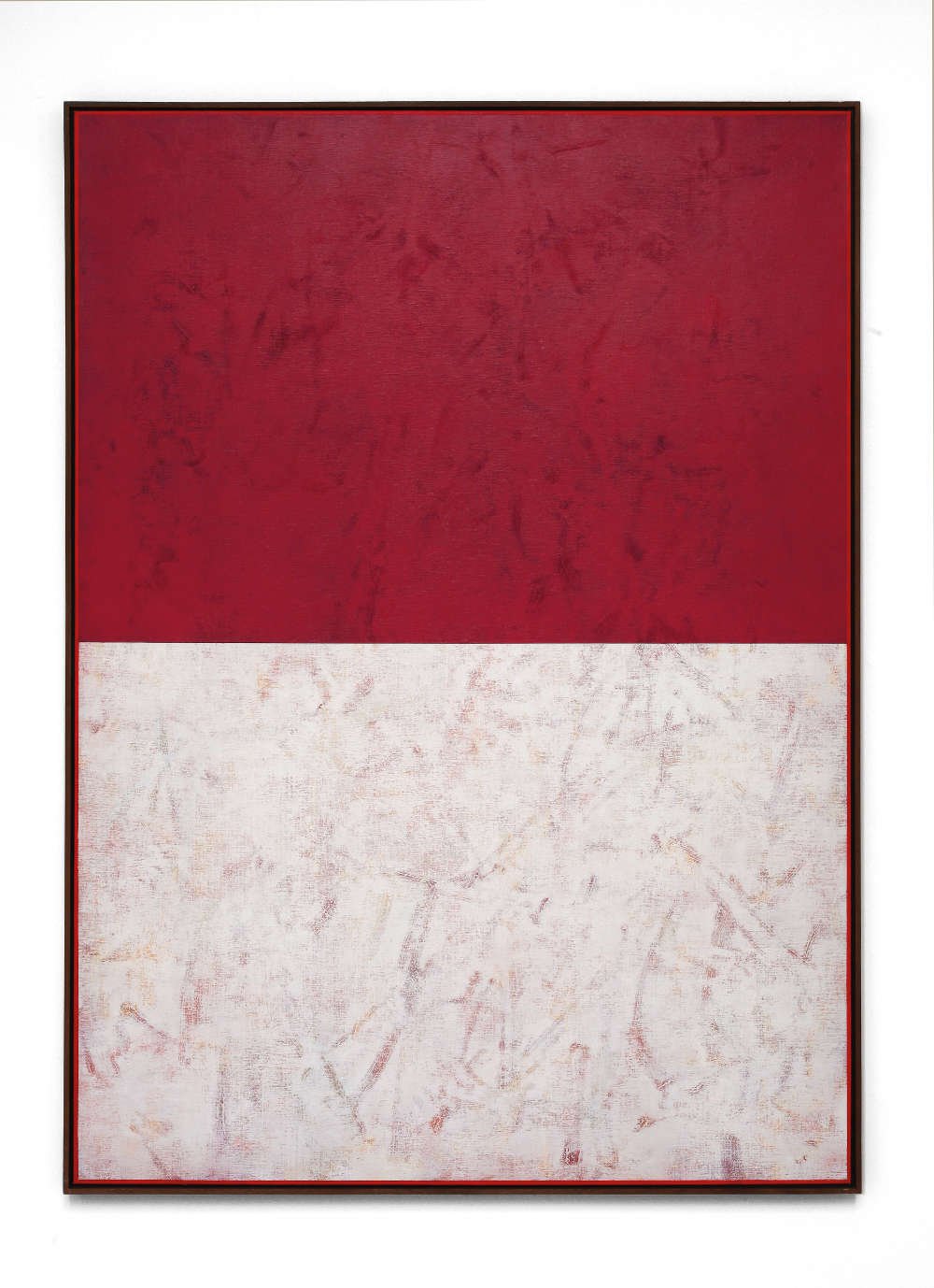 Claudio Verna, Controluce 6, 2011. Acrylic on canvas 160 x 115 cm 62.9 x 45.2 inch.