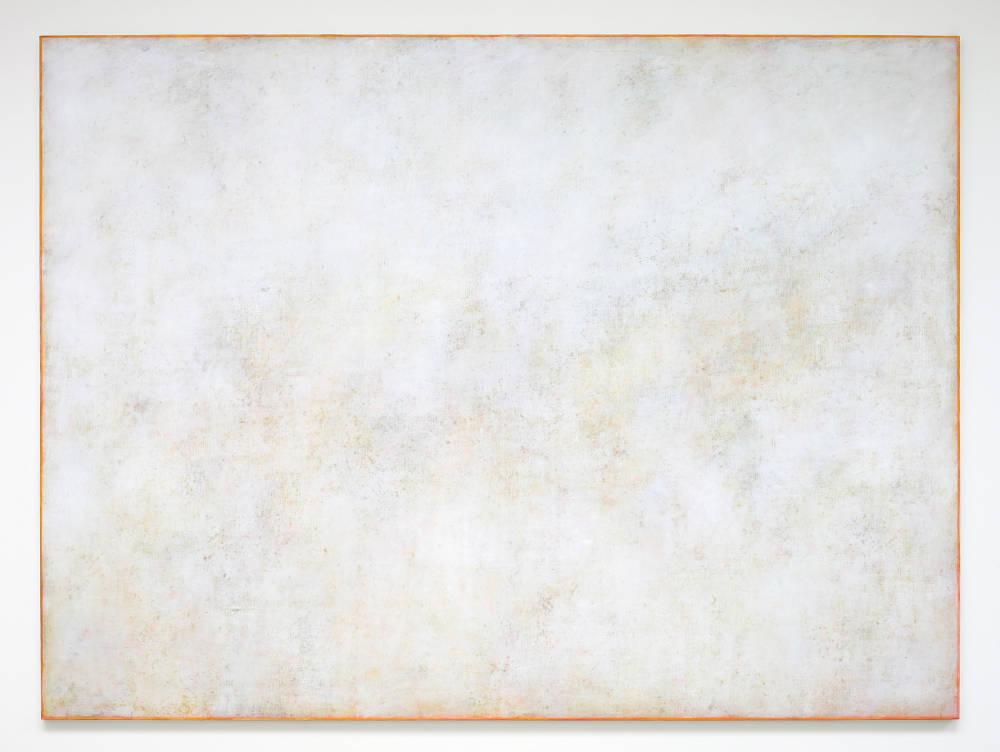 Claudio Verna, Inatteso, 2016. Acrylic on canvas 200 x 270 cm 78.7 x 106.2 inch.