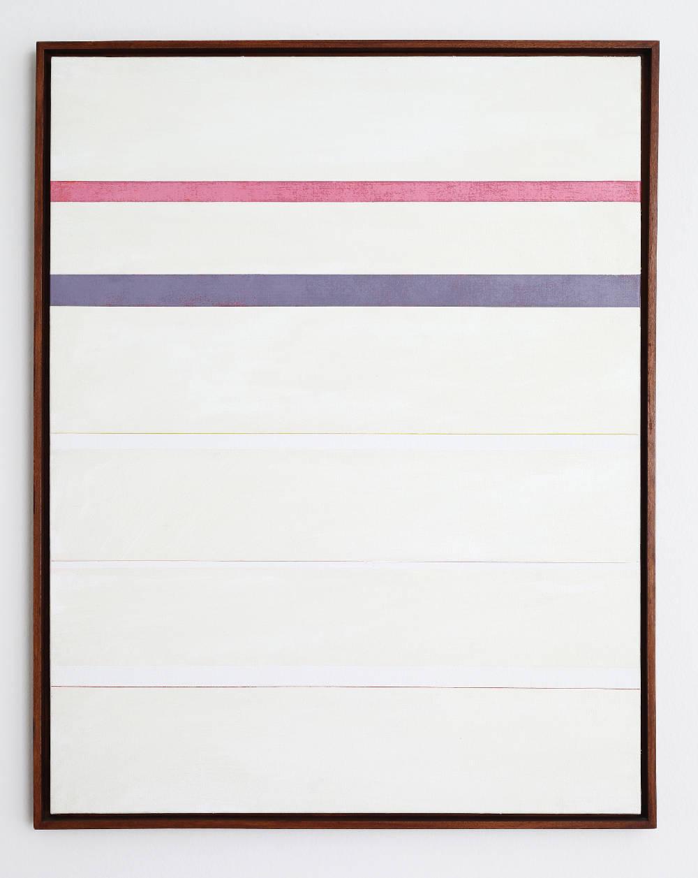 Claudio Verna, Pittura, 1976. Acrylic and oil on canvas 90 x 70 cm 35.4 x 27.5 inch.