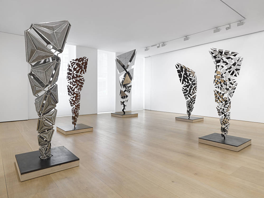 Victoria Miro Mayfair Conrad Shawcross 1
