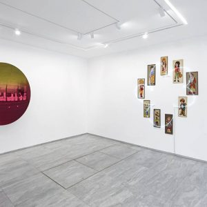 Daniel Buren, Douglas Gordon, Anish Kapoor, Tadashi Kawamata, Lee Ufan, Claude Lévêque @kamel mennour, avenue Matignon, Paris  - GalleriesNow.net
