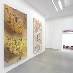 Matthew Lutz-Kinoy: Bowles @kamel mennour, r. Saint-André des arts, Paris  - GalleriesNow.net