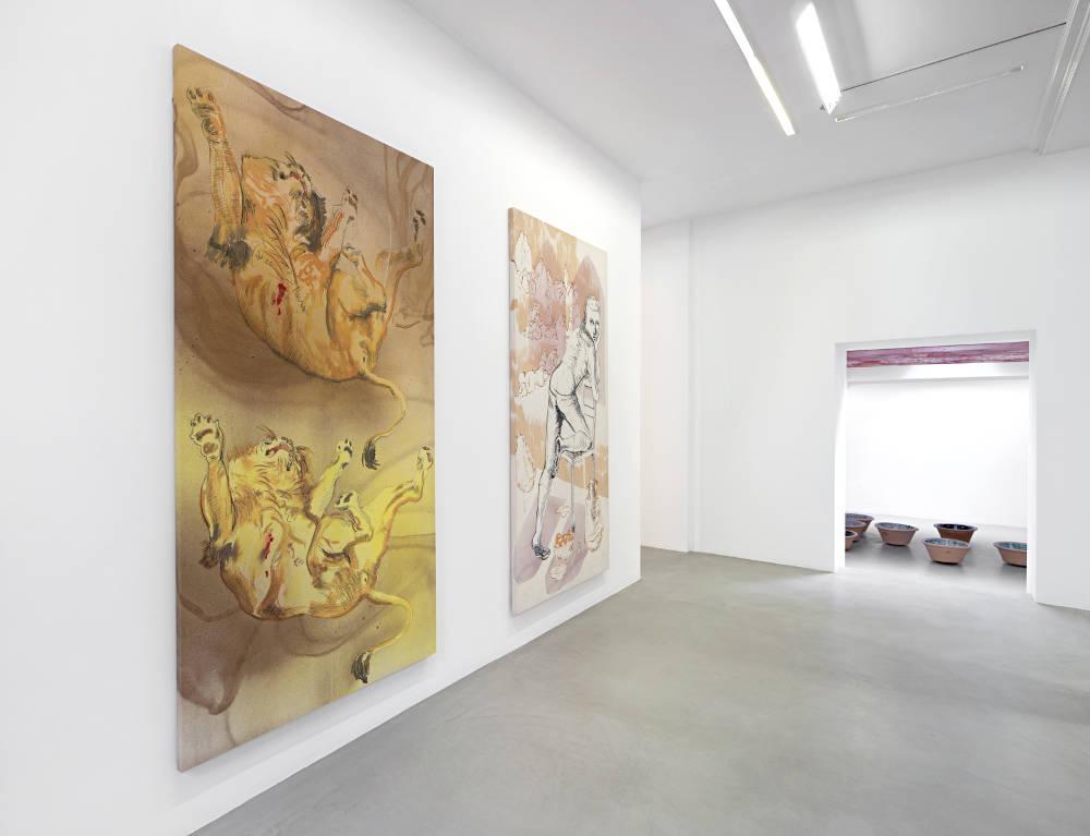 kamel mennour r Saint Andre des arts Matthew Lutz-Kinoy 1