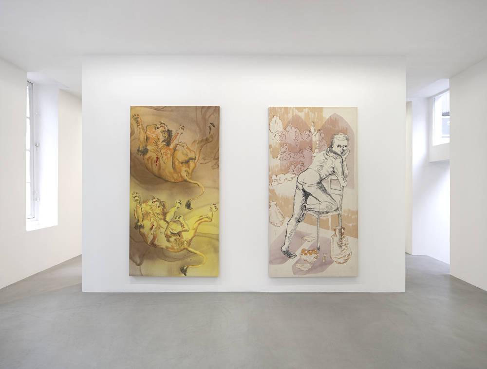 kamel mennour r Saint Andre des arts Matthew Lutz-Kinoy 2