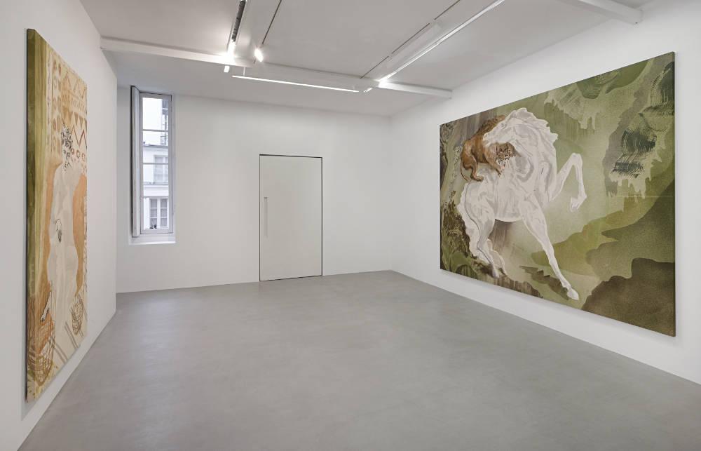 kamel mennour r Saint Andre des arts Matthew Lutz-Kinoy 4
