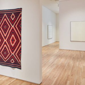 Agnes Martin / Navajo Blankets @Pace, 537 West 24th Street, New York  - GalleriesNow.net