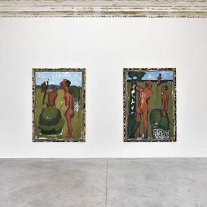 Markus Lüpertz @Almine Rech Gallery, Paris  - GalleriesNow.net