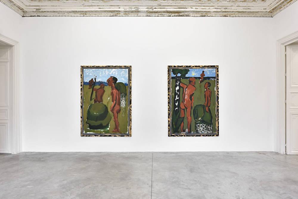 Almine Rech Gallery Paris Markus Lupertz 1