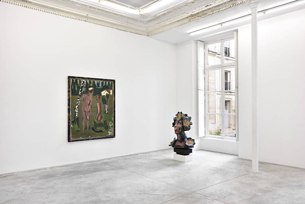 Almine Rech Gallery Paris Markus Lupertz 2