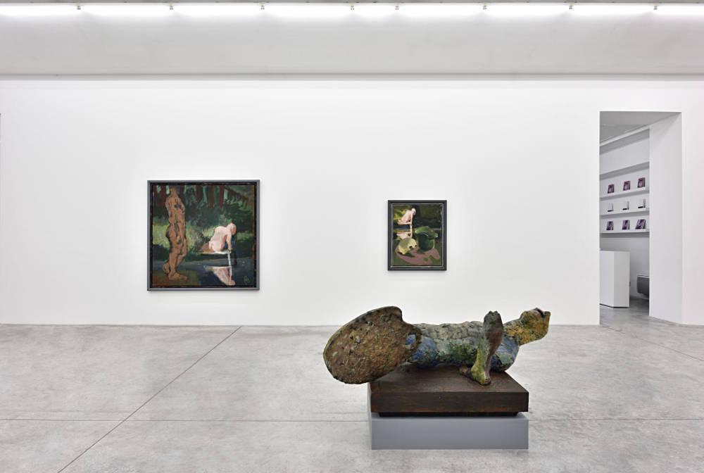Almine Rech Gallery Paris Markus Lupertz 3