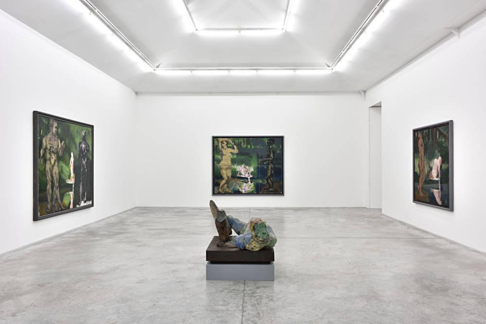 Almine Rech Gallery Paris Markus Lupertz 4