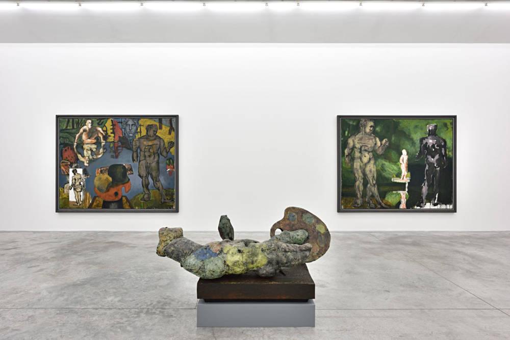 Almine Rech Gallery Paris Markus Lupertz 5