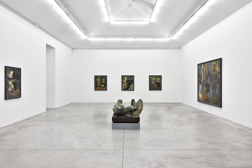 Almine Rech Gallery Paris Markus Lupertz 6
