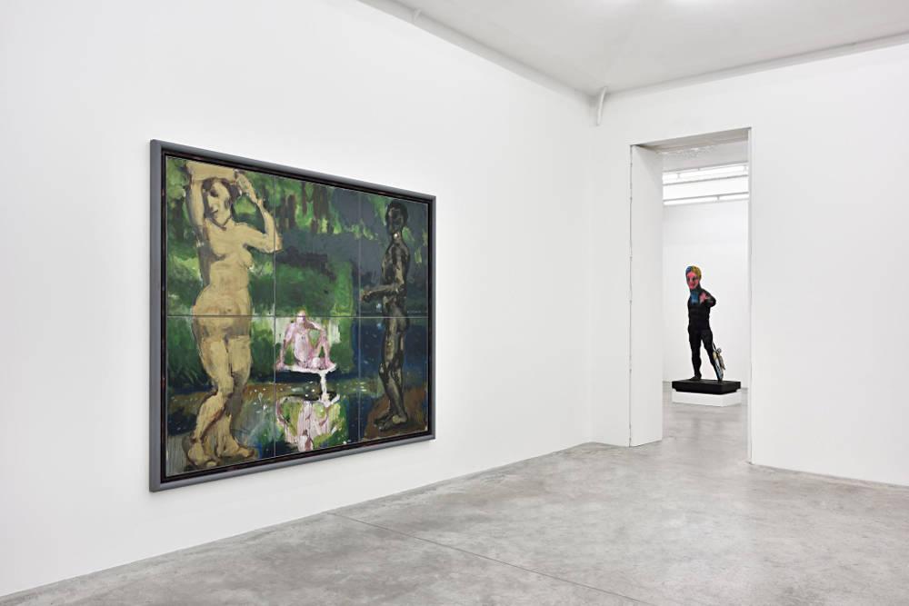 Almine Rech Gallery Paris Markus Lupertz 7