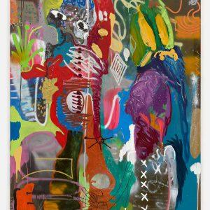 André Butzer: 1 Eis Bitte! (1999) @Galerie Max Hetzler, London  - GalleriesNow.net
