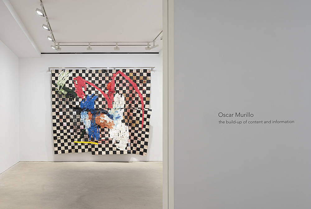 David Zwirner Hong Kong Oscar Murillo updated 1