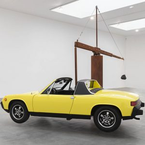 Chris Burden: Measured @Gagosian Britannia St, London  - GalleriesNow.net
