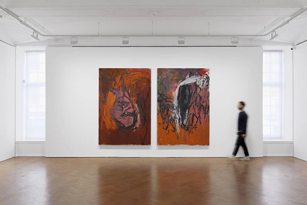 Galerie Thaddaeus Ropac London Georg Baselitz 4