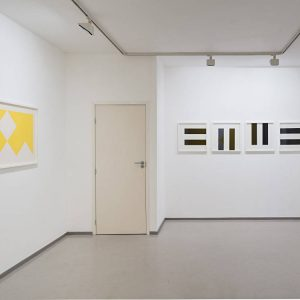 Olivier Mosset: Graphic Works @Laure Genillard Gallery, London  - GalleriesNow.net