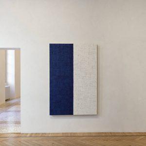 McArthur Binion: Ink: Work @Massimo De Carlo, Milan / Belgioioso, Milan  - GalleriesNow.net