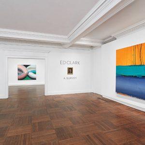 Ed Clark: A Survey @Mnuchin Gallery, New York  - GalleriesNow.net