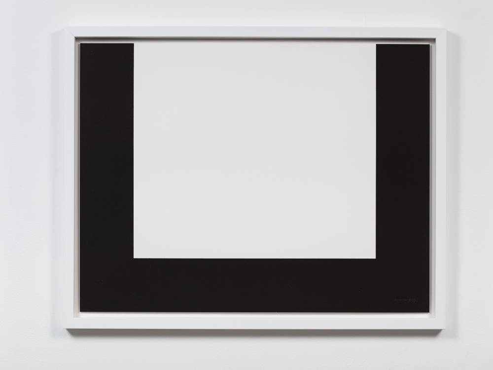 Olivier Mosset, TUM', MUTT, TUTU, 2014. 12 lithograph prints on Rives Paper, 50 x 65cm each. Letter U: edition of 80