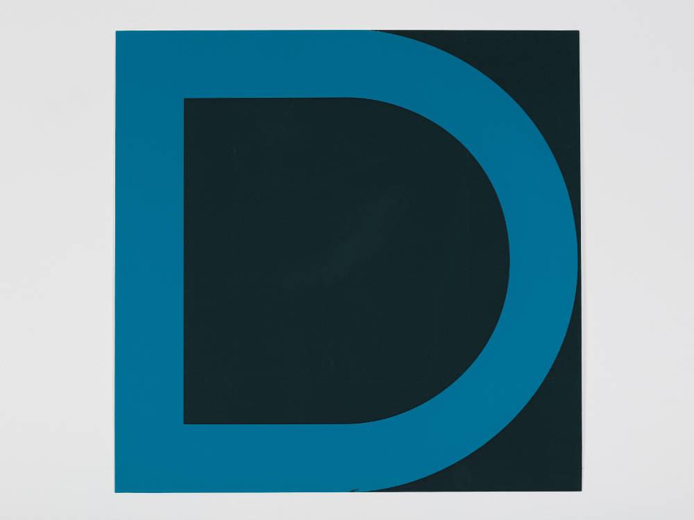 Olivier Mosset, Répétitions et Variations, 2007. Silkscreens (series of 17 triptychs), 60 x 60cm each, 60 x 60cm, Number 7 of 17. Signed by the artist and Julia Chobert. Courtesy of Gilles Drouault, Gallerie de Multiples, Paris