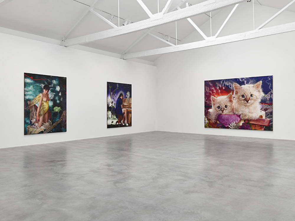 Newport Street Gallery Martin Eder 2