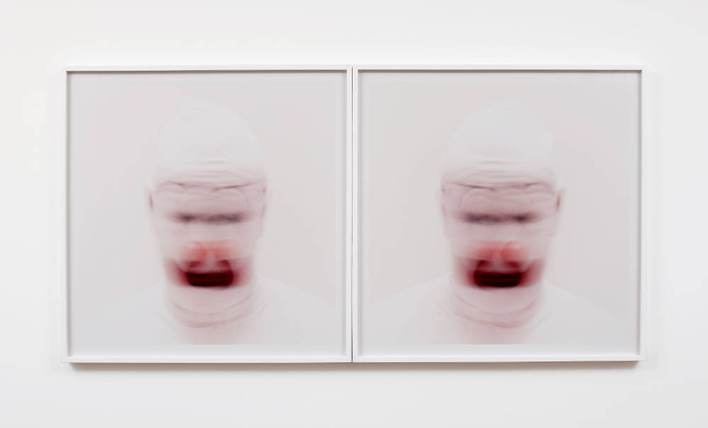 Roni Horn, Clownmirror (2), 2001. 2 C-prints. Ed. 7/7 + 3 AP 76.2 x 76.2 cm / 30 x 30 in each (2 parts)