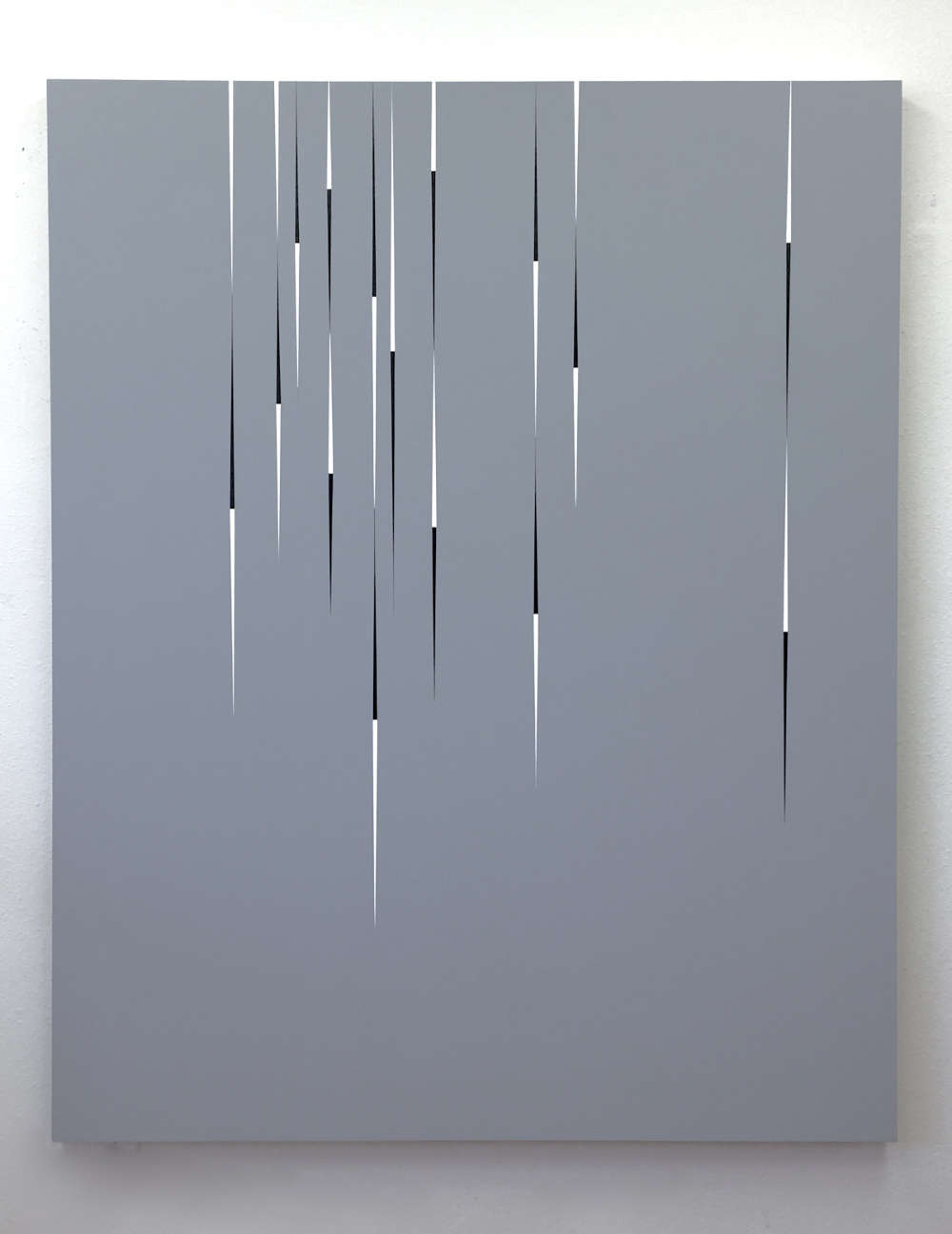 Richard Roth, Exit Strategy, 2018. Acrylic on wood panel 60 x 48 in