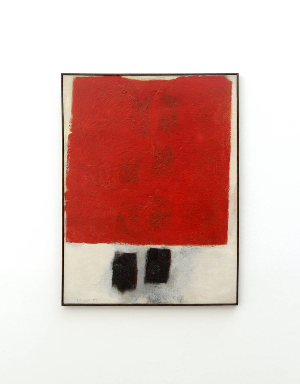 Tomie Ohtake, Untitled, 1964. Oil on canvas 25.8 x 19.9 in/65,5 x 50,5 cm. Courtesy of the artist and Galeria Nara Roesler
