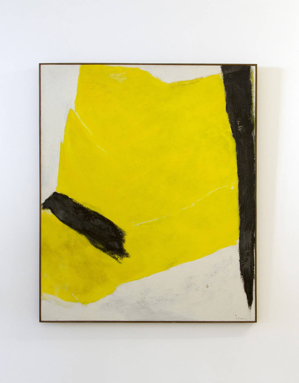 Tomie Ohtake, Untitled, 1965. Oil on canvas 47.2 x 39.4 in/120 x 100 cm. Courtesy of the artist and Galeria Nara Roesler