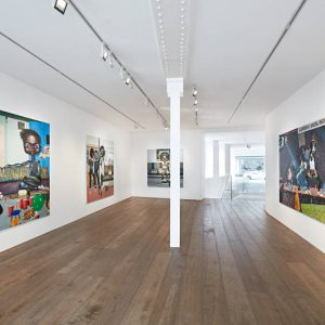 Ndidi Emefiele: Pets, Parties and a Cuddle @rosenfeld porcini, London  - GalleriesNow.net