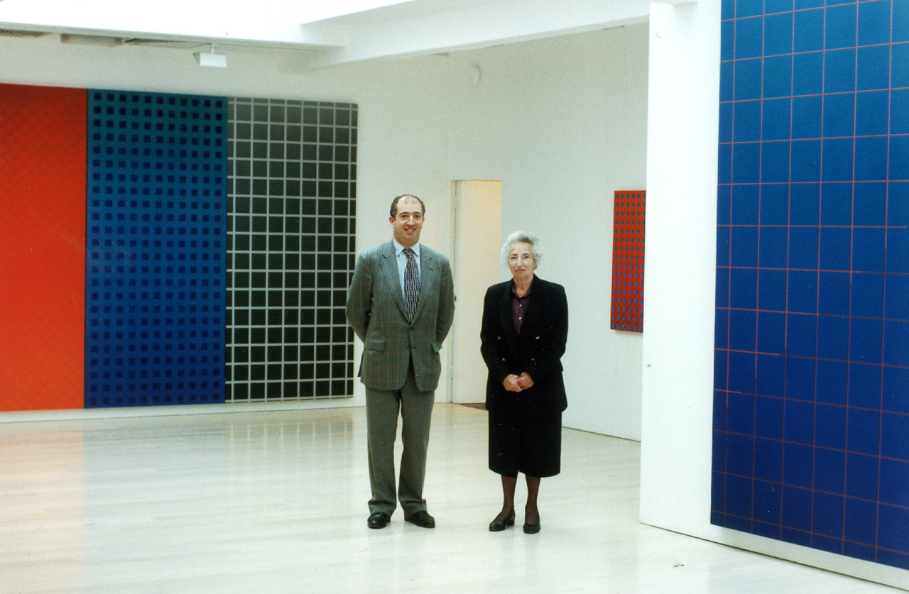 David and Annely Juda in 1997