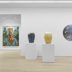 By Fire, Ceramic Works @Almine Rech Gallery New York, New York  - GalleriesNow.net