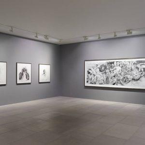 Jonas Burgert: schlagen und bleiben @Blain|Southern, Hanover Sq, London  - GalleriesNow.net