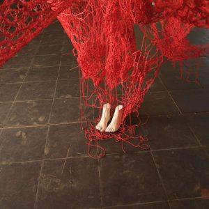 Chiharu Shiota: Me Somewhere Else @Blain|Southern, Hanover Sq, London  - GalleriesNow.net