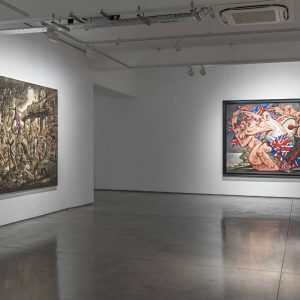 Peter Howson: Acta Est Fabula @Flowers Gallery, Kingsland Road, London  - GalleriesNow.net