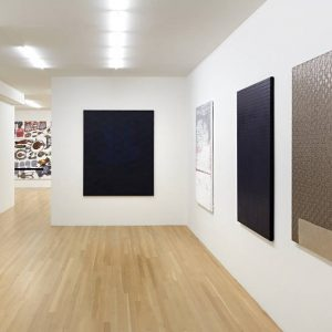 Sergej Jensen: Fabric Paintings @Galerie Buchholz, New York  - GalleriesNow.net