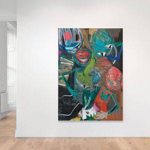 André Butzer: 1 Eis, bitte! (1999) @Galerie Max Hetzler, London  - GalleriesNow.net
