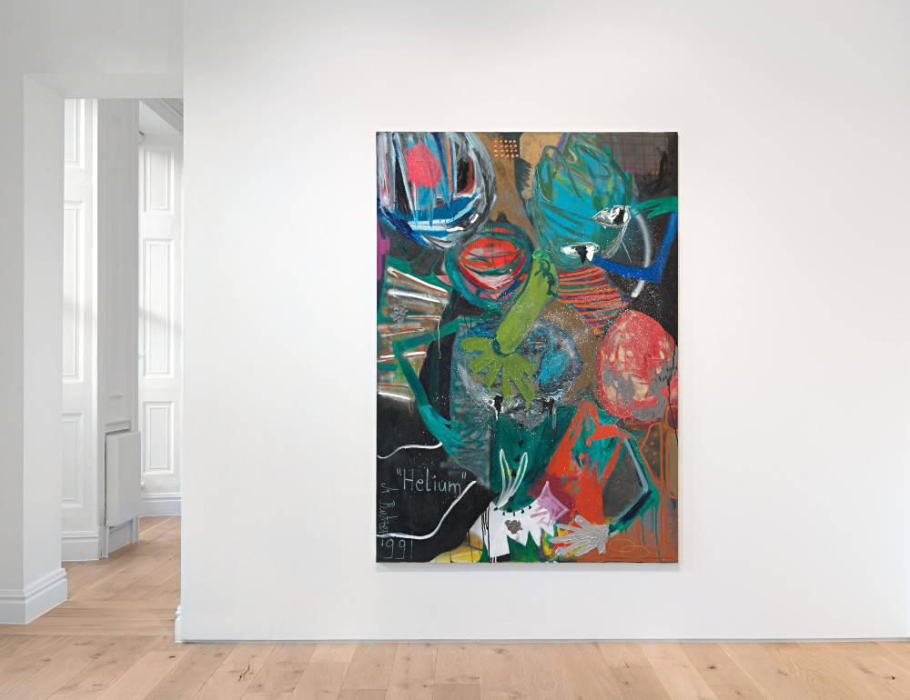 Galerie Max Hetzler London Andre Butzer 1