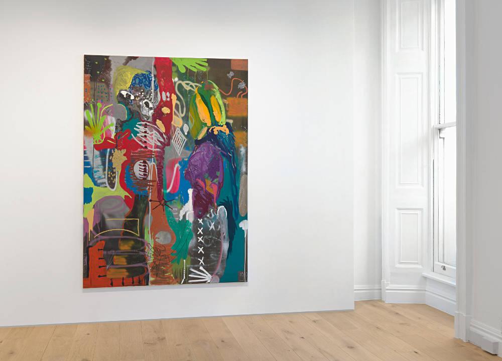 Galerie Max Hetzler London Andre Butzer 2